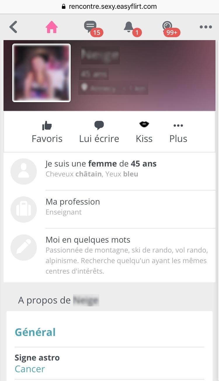 Profil Easyflirt Mobile