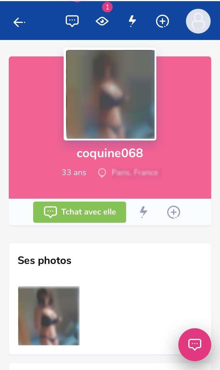 gros bisous mobile profil